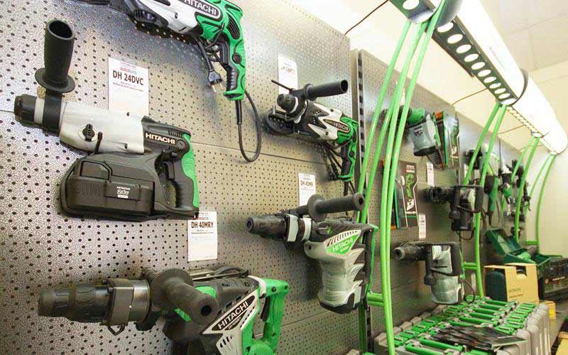 HITACHI machines at ADT Diamondtools
