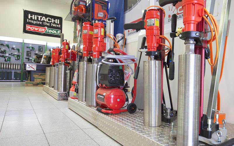 WEKA core drilling units from ADT Diamondtools