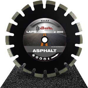 Diamond cutting disc asphalt