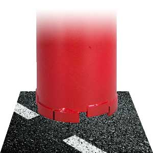 Asphalt drill bit