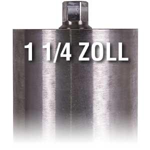 Diamond drill bits 1 1/4