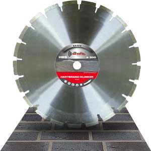 Diamond cutting disc clinker