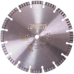 Diamantscheibe mit Bündig Flansch M14 Beton