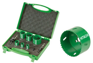 Hitachi Hole Saw Kits Carbide Fitted Adt Specialist Trade
