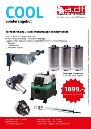 CARDI Kernbohranalge Cooler System Angebot