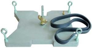 Vakuumplatte Vakuum Fuß Kernbohrständer Bohrständer Kernbohrstativ Bohrstativ